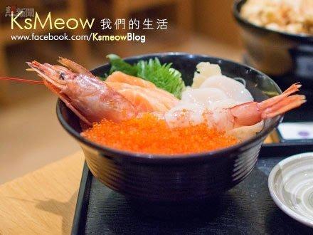 北海道四色丼