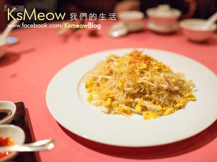 桂花蟹肉炒新竹米粉
