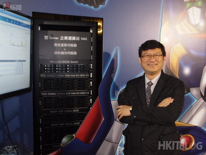 QNAP Director Teddy Kuo
