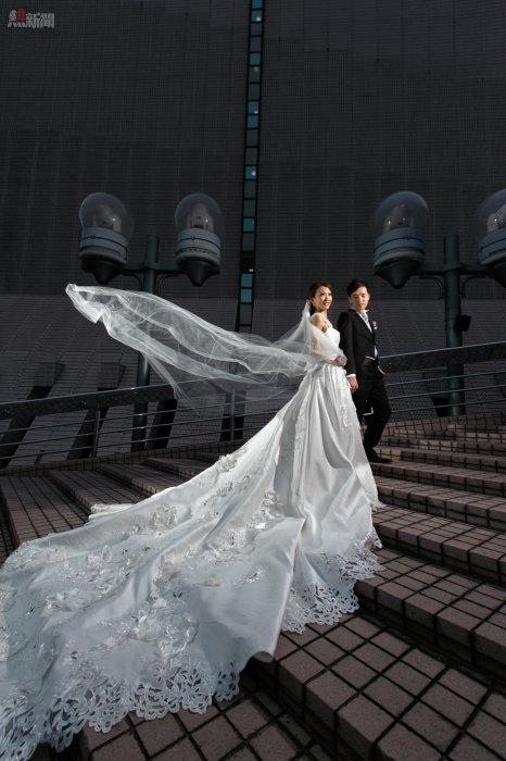 文化中心及海旁是拍攝婚紗照的好地方