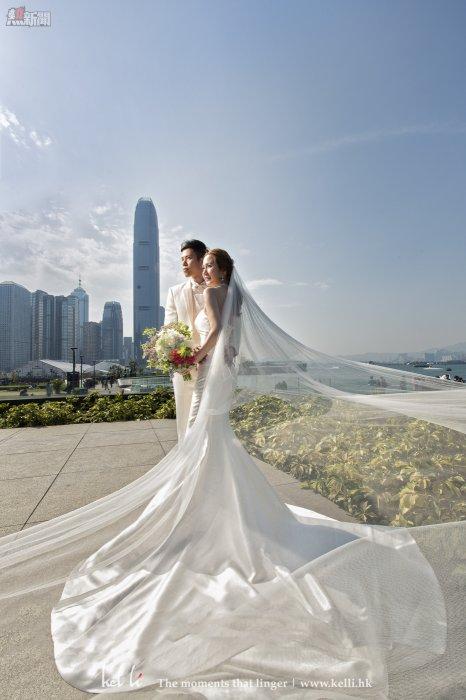 新娘與新郎合照