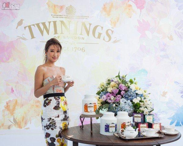 港時尚名媛謝婷婷竟是英國川寧茶Twinings超級粉絲,特地來台灣參與午茶派對。