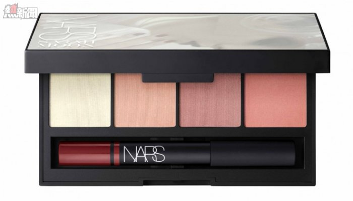 TRUE STORY眼唇彩妝組合 FOUR BLUSHES (3.5g x 4): DEVOTEE, MYTH, UNWRITTEN, OUTLAW MYSTERIOUS RED VELVET MATTE LIP PENCIL (2.2g)