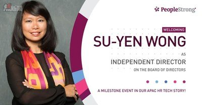 Su-Yen joins PeopleStrong Board