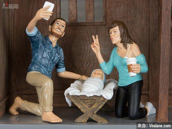 (偽)文青版的耶穌誕生畫面?!Hipster Nativity Scene?!
